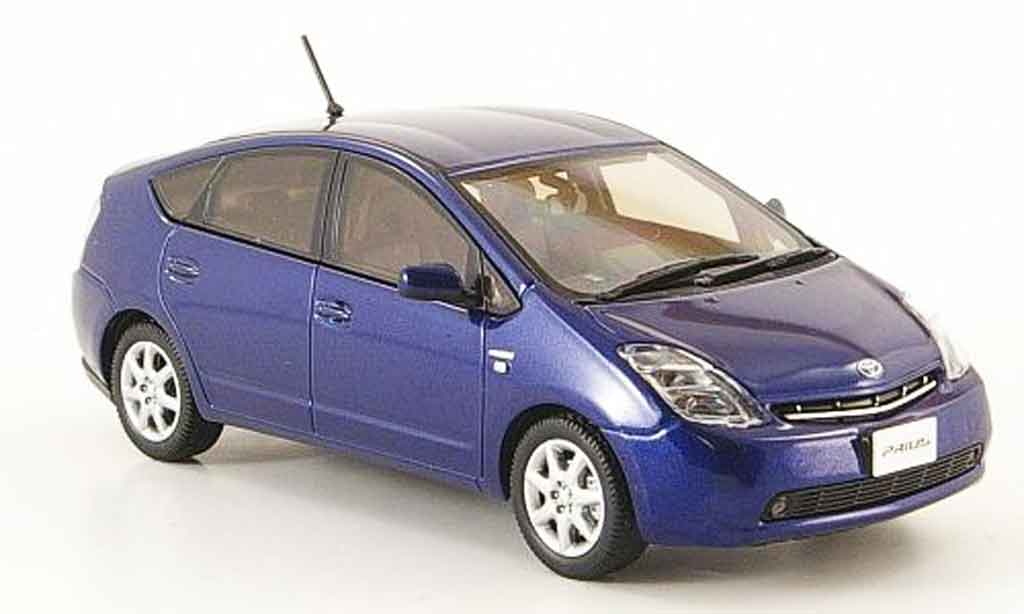 Toyota Prius 1/43 Kyosho ii g bleu touring selection diecast model cars