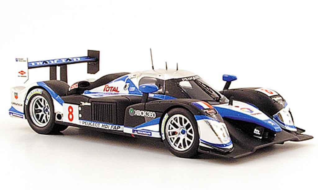 peugeot 908 2009 miniature hdi fap no 8 24h le mans 2009 provence moulage 1 43 voiture. Black Bedroom Furniture Sets. Home Design Ideas