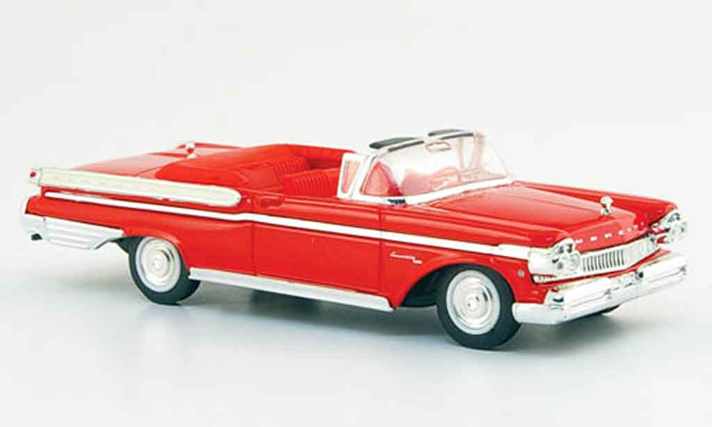 Mercury Turnpike 1/43 Yat Ming Cruiser rouge 1957 miniature