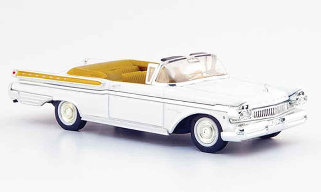 Mercury Turnpike 1/43 Yat Ming Cruiser blanche 1957 miniature