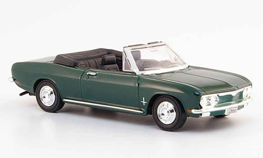 Chevrolet Corvair 1/43 Yat Ming Monza grun 1969 miniature