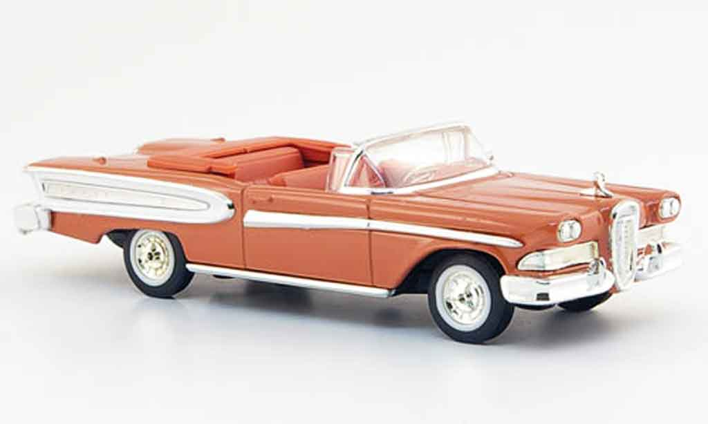 Ford Edsel 1/43 Yat Ming Citation pink 1958 miniature