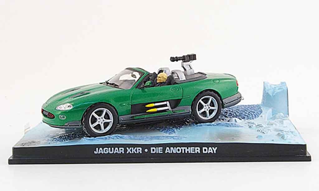 jaguar xkr green james bond 007 2002 mcw diecast model car 1 43 buy sell diecast car on. Black Bedroom Furniture Sets. Home Design Ideas