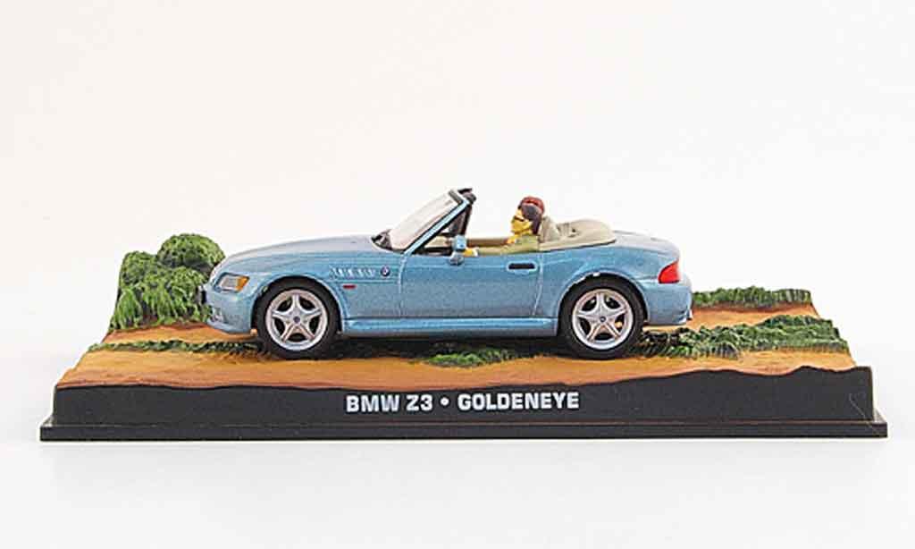 bmw z3 roadster blau james bond 007 1995 mcw modellauto 1 43 kaufen verkauf modellauto. Black Bedroom Furniture Sets. Home Design Ideas