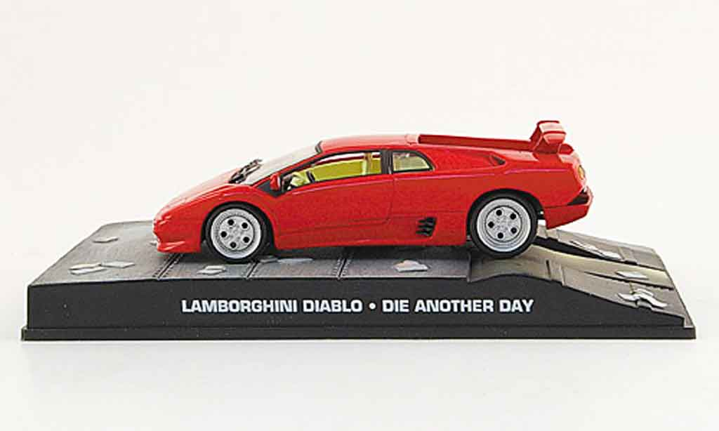 lamborghini diablo red james bond 007 2002 mcw diecast model car 1 43 buy s. Black Bedroom Furniture Sets. Home Design Ideas