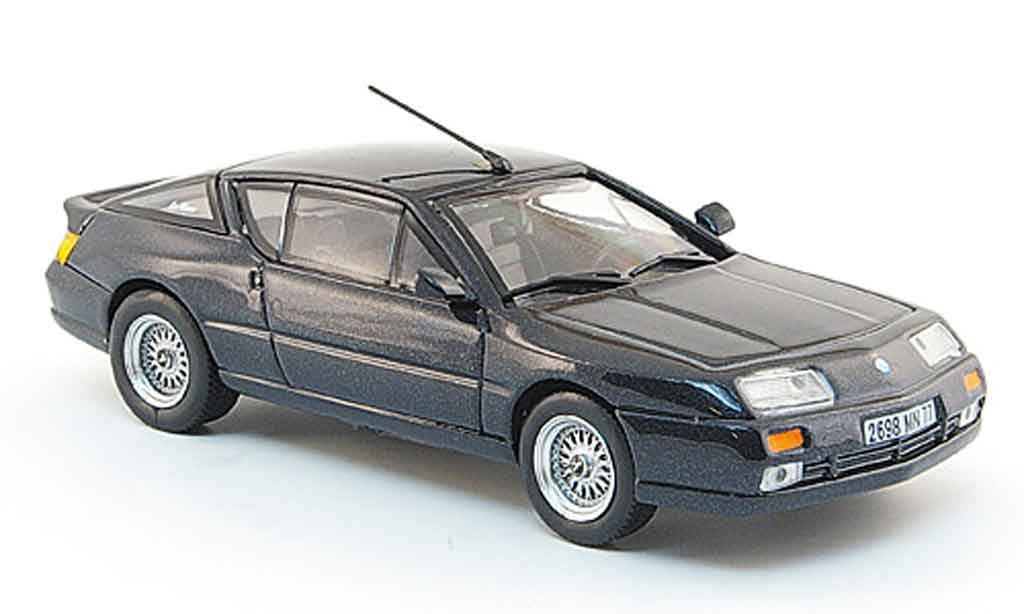 Alpine GTA Le mans 1/43 Eligor grun 1989 miniature