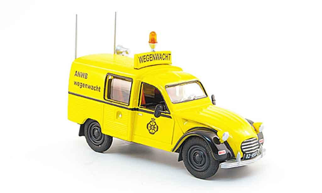 Citroen 3CV 1/43 Eligor anwb straeenwacht miniature