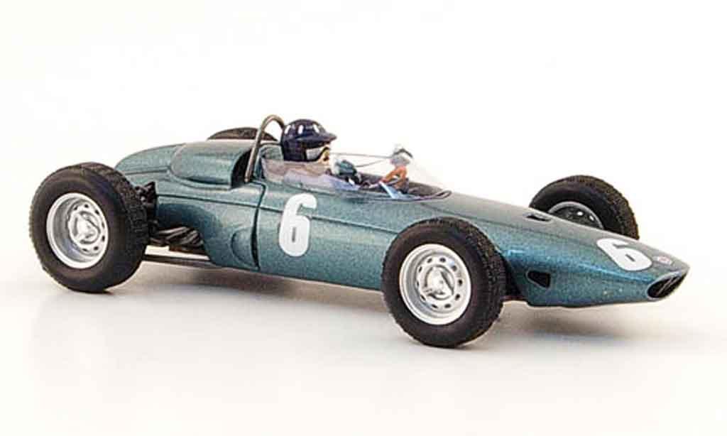 Brm P57 1/43 Spark No.6 G.Hill Sieger GP Monaco 1963 diecast model cars