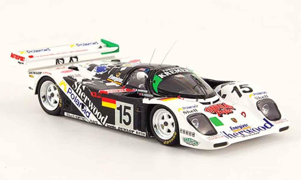 Porsche 962 1993 1/43 Spark K6 No.15 Sherwood 24h Le Mans miniature