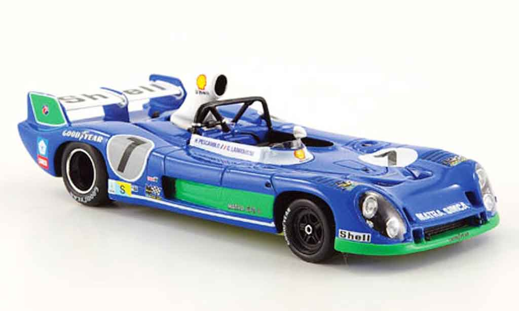 Simca Matra 1/43 Spark ms670 b no.7 sieger 24h le mans 1974 diecast model cars
