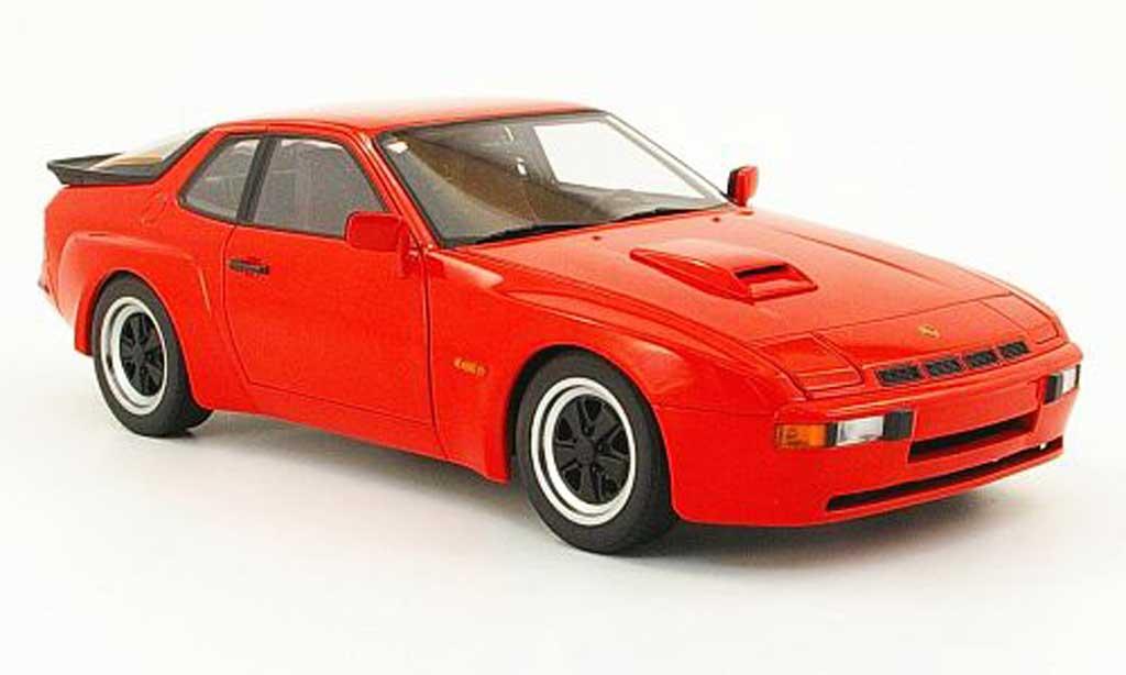 Porsche 924 1980 1/18 Autoart carrera gt rouge miniature