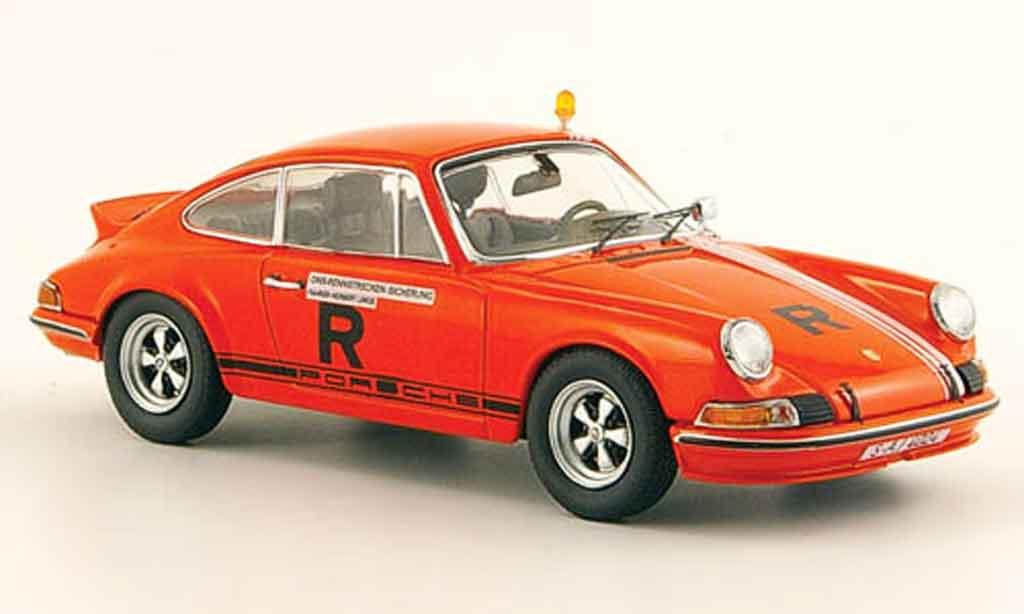 Porsche 911 RS 1/43 Schuco ONS Rennstrecken Sicherung 1973 diecast model cars