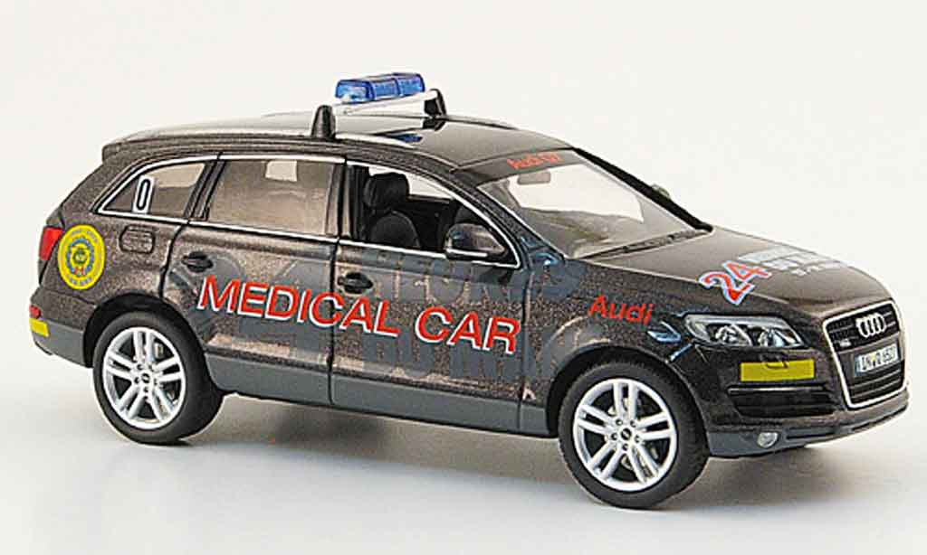 Audi Q7 1/43 Schuco Medical Car miniature