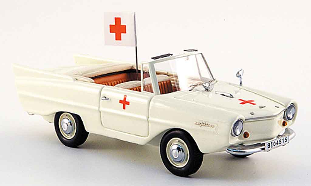 Amphicar Ambulance 1961 Neo. Amphicar Ambulance 1961 miniature 1/43