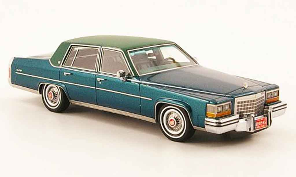 Cadillac Fleetwood 1/43 Neo Brougham grun oliv 1982 miniature