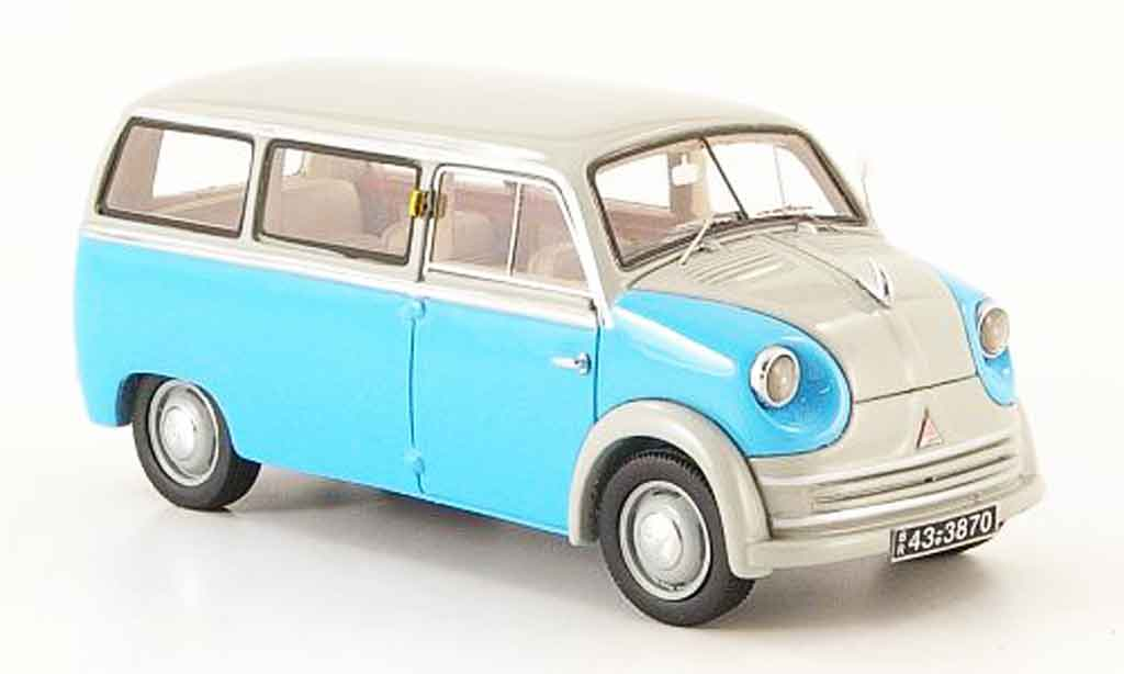 Lloyd LT 1/43 Neo 500 600 bleu grise 1955 miniature
