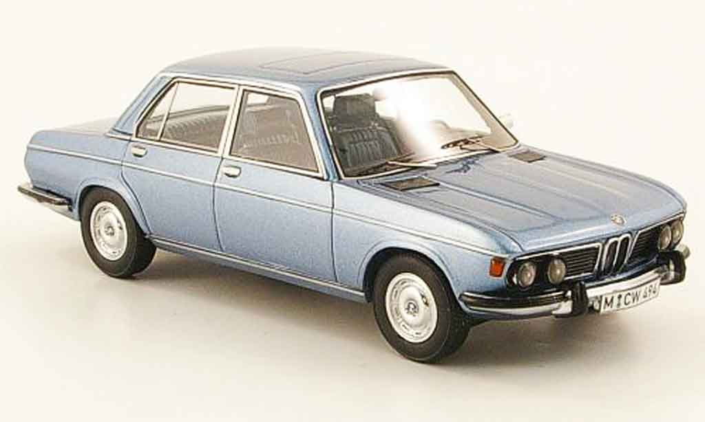 Bmw 2800 E3 1/43 Neo bleu edition liavecee 300 1973 miniature