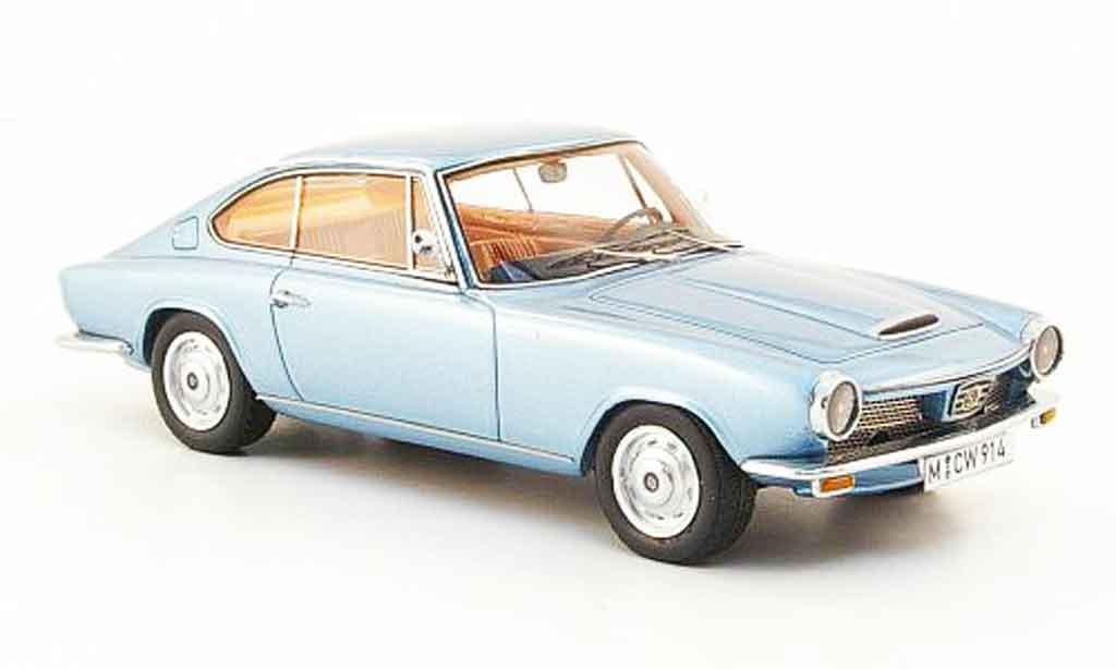 Glas 1700 1/43 Neo GT bleu 1965 miniature
