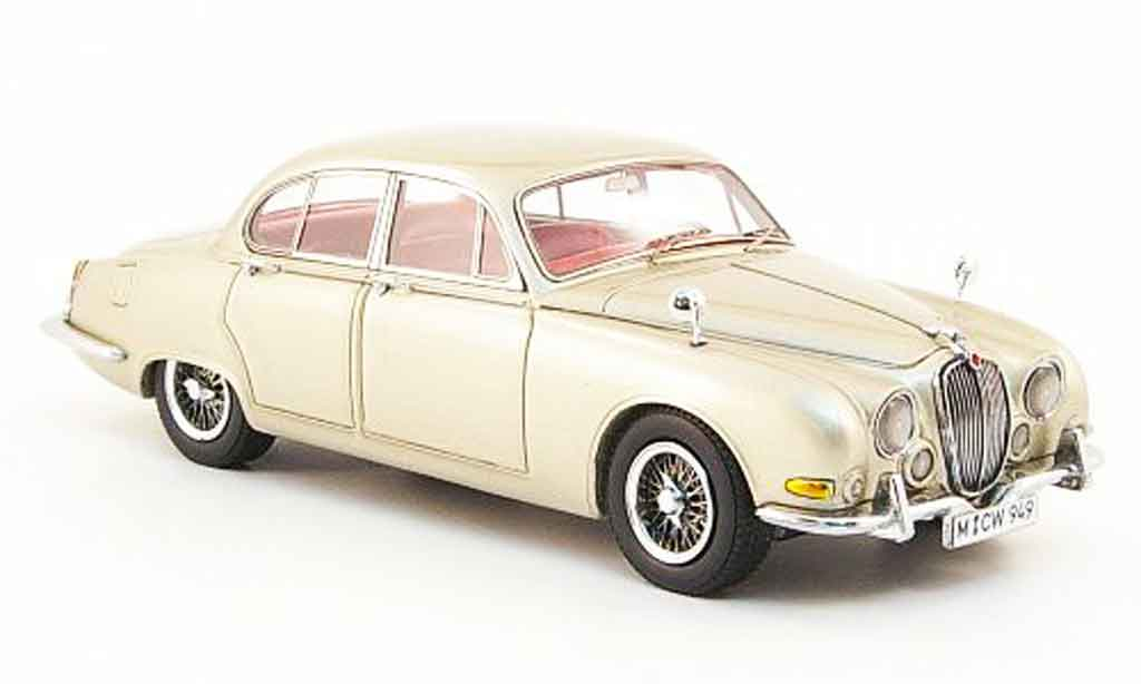 Jaguar S-Type 1/43 Neo 3.4 or edition liavecee 300 1963