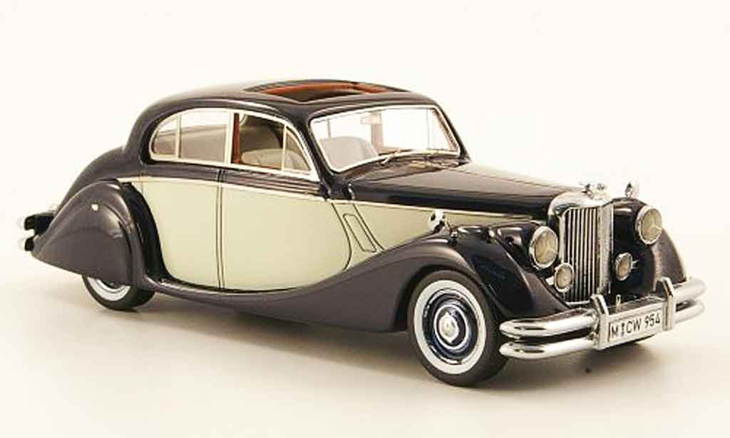 Jaguar MK 5 1/43 Neo bleu grise edition liavecee 300 190 miniature