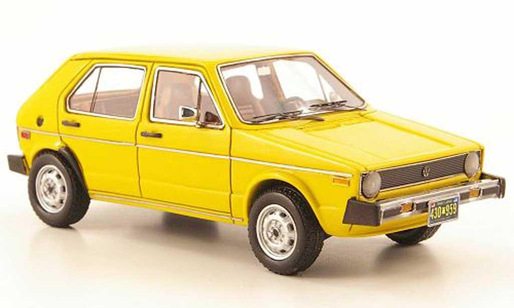 Volkswagen Golf I 1/43 Neo I Rabbit (US I) jaune 5-portes lim. Aufl. 300 1975 miniature