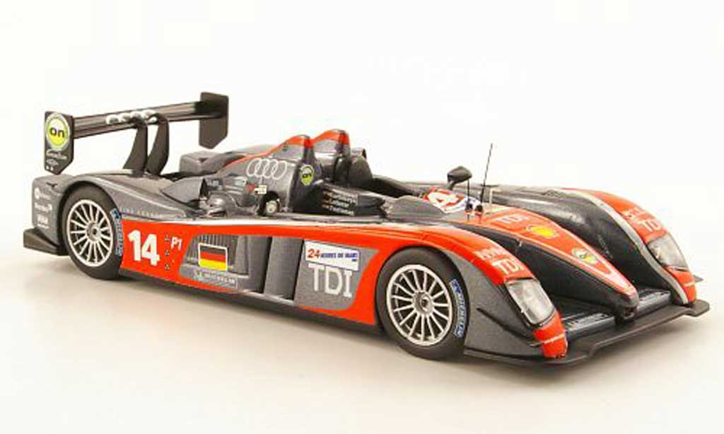 Audi R10 2009 1/43 IXO R10 TDI No.14 24h Le Mans miniature