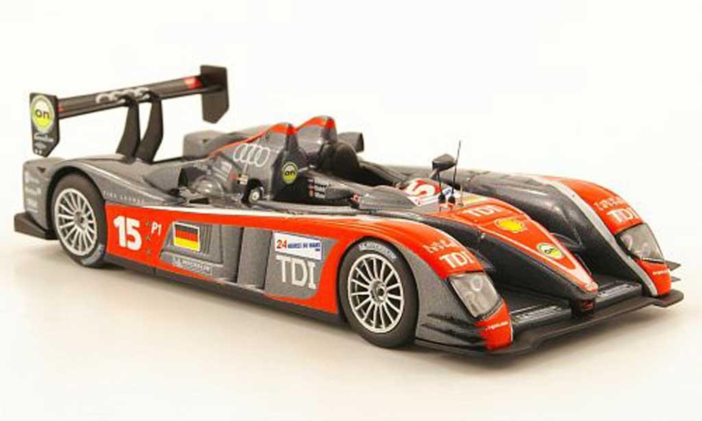 Audi R10 2009 1/43 IXO R10 TDI No.15 24h Le Mans miniature