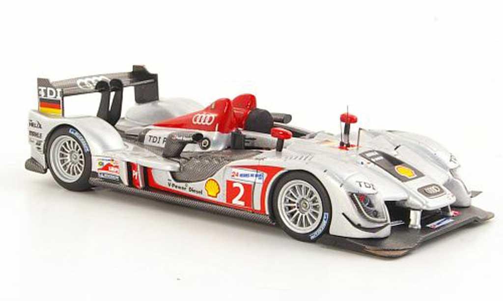 Audi R15 2009 1/43 IXO TDI No.2 L.Luhr / M.Rockenfeller / M.Werner 24h Le Mans miniature