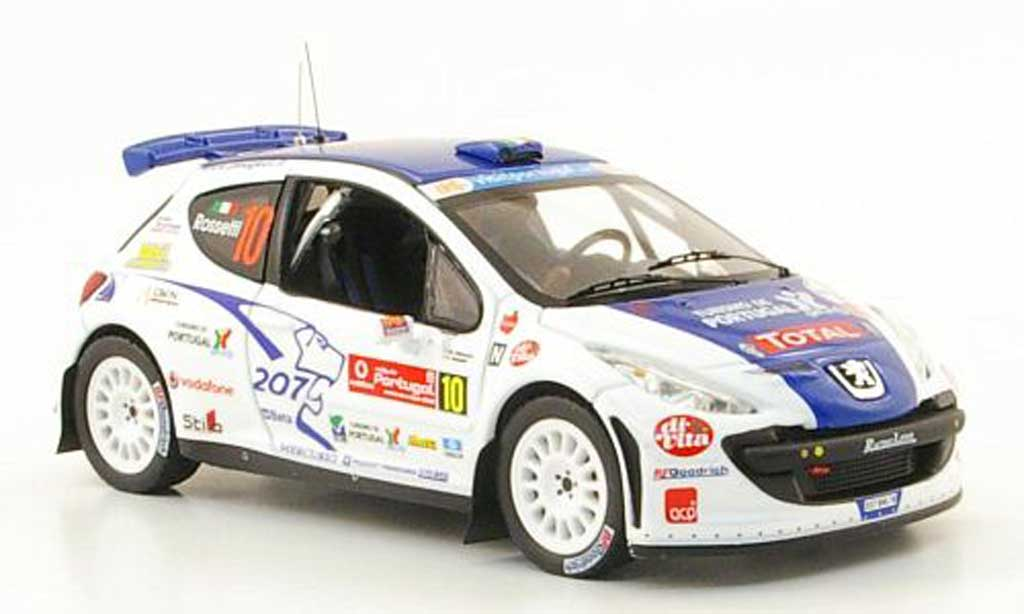 Peugeot 207 S2000 1/43 IXO No.10 Total Rally Portugal 2008 miniature