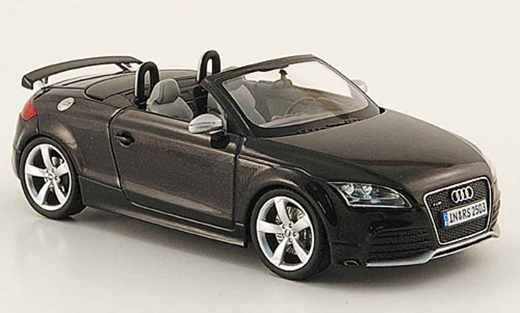 audi tt rs roadster schwarz 2009 schuco modellauto 1 43. Black Bedroom Furniture Sets. Home Design Ideas