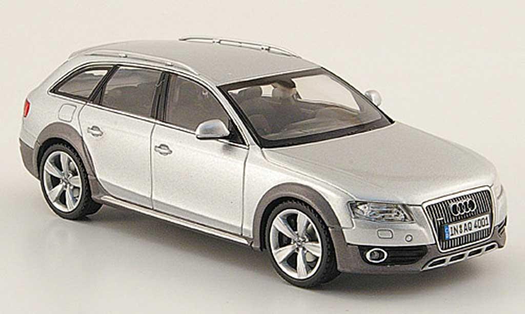 Audi A4 1/43 Schuco Allroad grise 2009