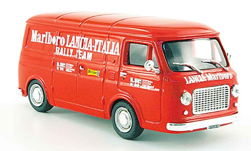 Fiat 238 1/43 Pego marlboro rennservice kasten 1975 miniature