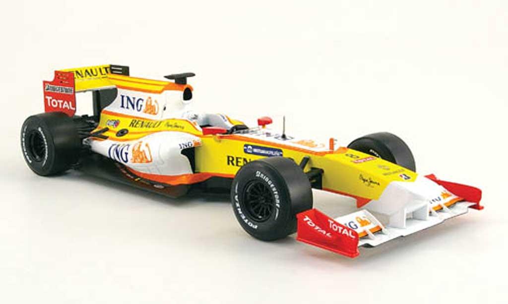 Renault F1 1/18 Norev r 29 no.8 ing formel 1 2009 miniature