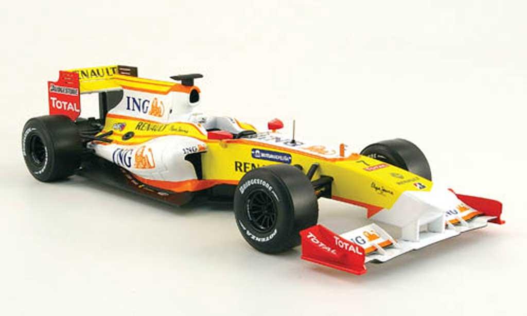 Renault F1 1/18 Norev r 29 no.7 ing formel 1 showcar 2009 miniature