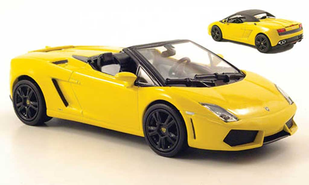 Lamborghini Gallardo LP560-4 LP560-4 1/43 Norev Spyder yellow 2009 diecast model cars