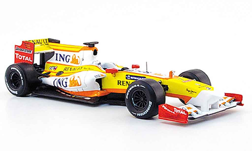 Renault F1 1/43 Norev r 29 no.7 ing formel 1 showcar 2009 miniature