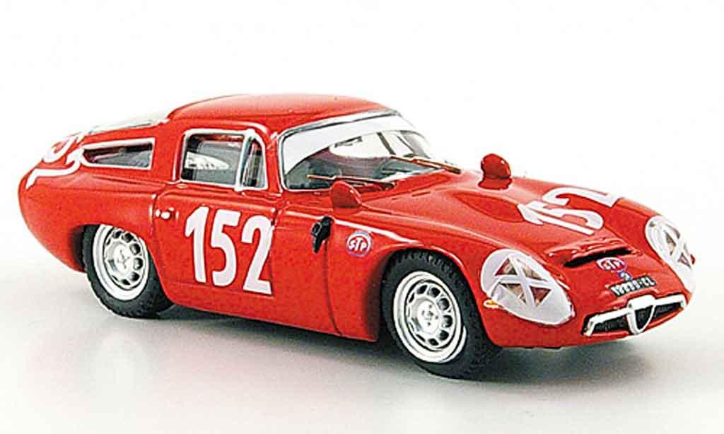 Alfa Romeo TZ1 1/43 Best no.152 giugno sutera targa florio 1970 miniature