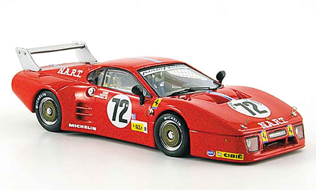 Ferrari 512 BB 1/43 Best 3.serie no.72 24h le mans 1982 miniature