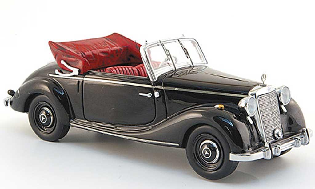 Mercedes 170 1/43 Spark S Cabriolet A noire 1949 miniature