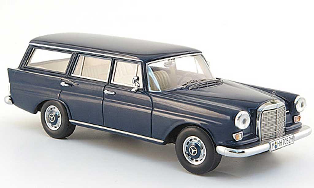 Mercedes 230 1/43 Spark Universal (W 110) bleu 1966 miniature