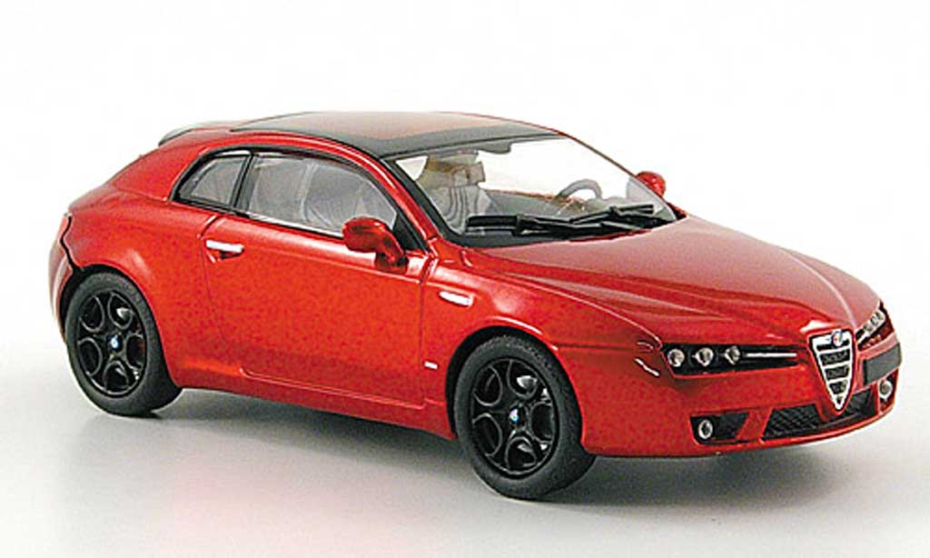 alfa romeo brera miniature competizione rouge 2008 m4 1 43 voiture. Black Bedroom Furniture Sets. Home Design Ideas