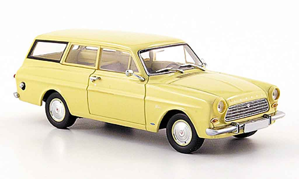 Ford Taunus 1962 1/43 Minichamps 12 M (P 4) Turnier beige miniature