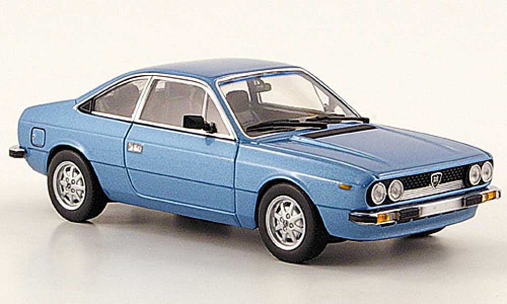 Lancia Beta 1/43 Minichamps Coupe bleu 1980 miniature