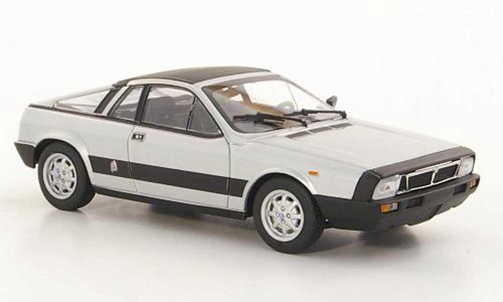 Lancia Beta Monte Carlo 1/43 Minichamps grise 1980 miniature