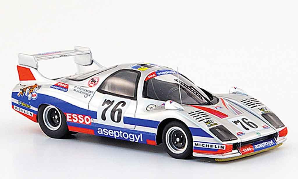 Peugeot WM 1978 1/43 Bizarre no.76 esso aseptogyl 24h le mans P76 miniature
