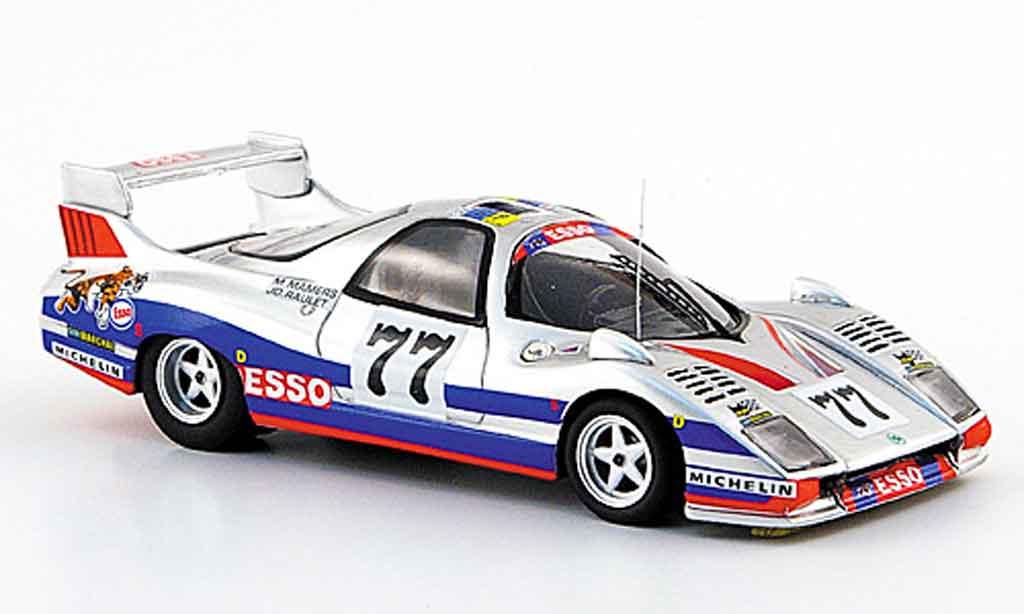 Peugeot WM 1978 1/43 Bizarre p77 no.77 esso 24h le mans P77 miniature