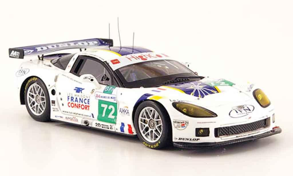 Chevrolet Corvette C6 1/43 Spark R No.72 24h Le Mans 2009 modellautos