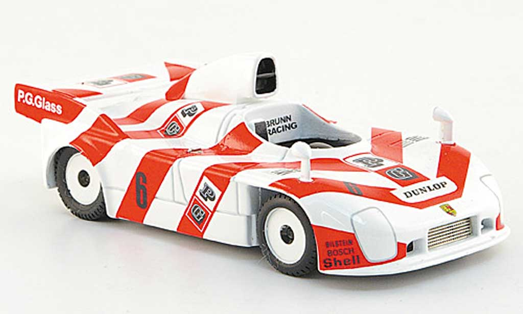 Porsche 908 1982 1/43 Best No.6 P.G.Glass 9h Kyalami De Cadenet/Pianta miniature