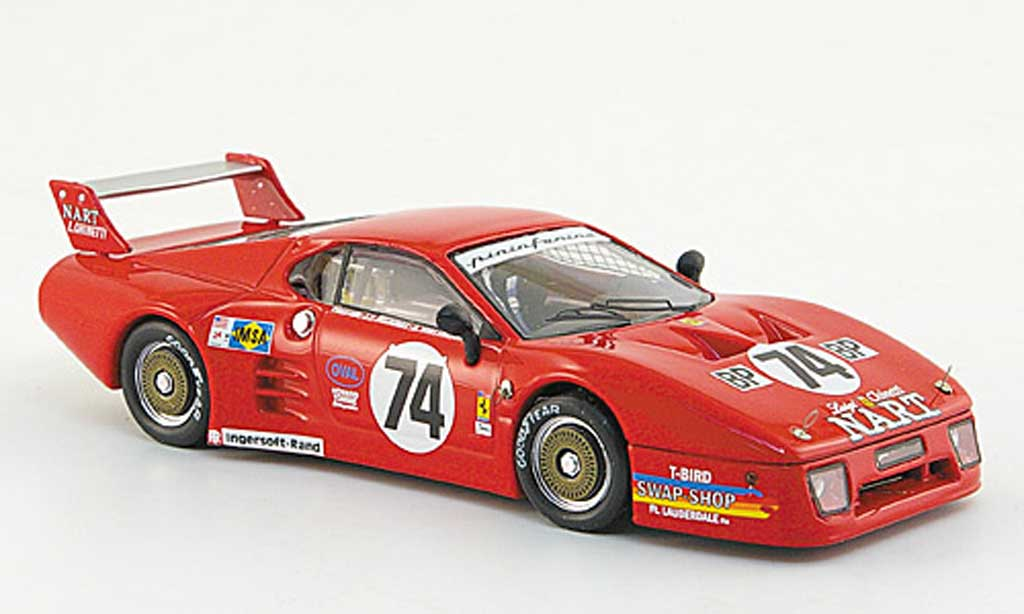 Ferrari 512 BB LM 1/43 Best No.74 24h Le Mans 1980 miniature