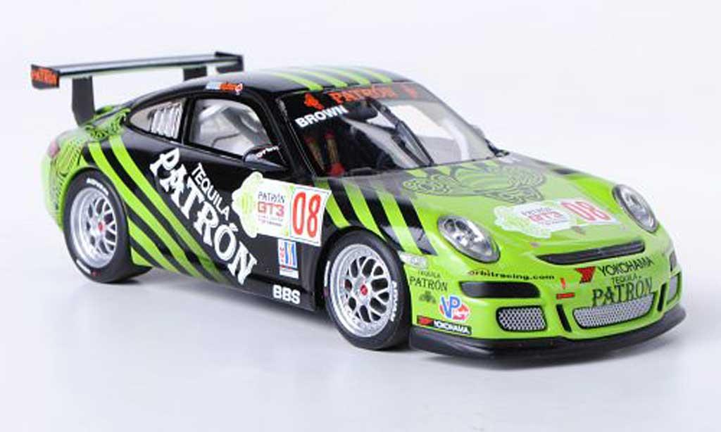 Porsche 997 GT3 CUP 1/43 Minichamps GT3 Cup 2009 No.8 E.Brown IMSA GT3 Cup Challenge miniature